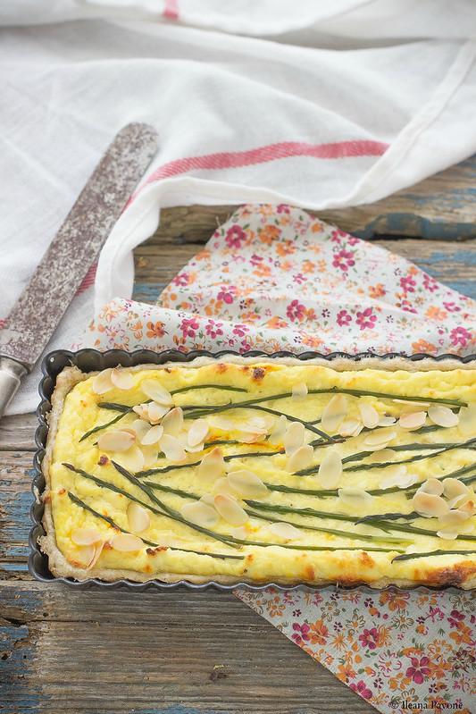 IleanaP.torta salata agli asparagi