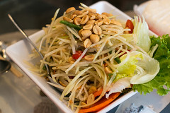 Dining in Flushing Queens, New York City - green p…