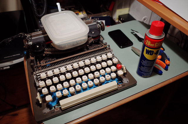 Typewriter Brother XL1010 repair