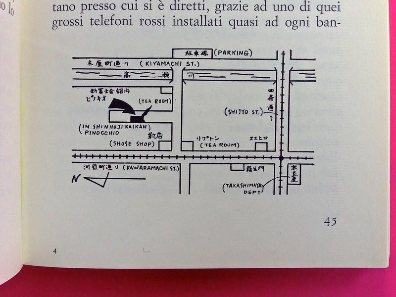 Roland Barthes, L'impero dei segni. Einaudi 1984. Illustrazioni b/n nel corpo del testo, a pag. 45 (part.), 1