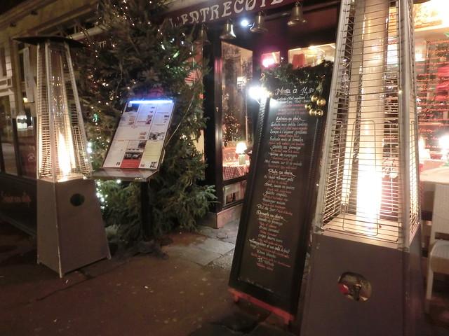 用中文遊巴黎-L'Entrecôte des Halles-法式 (24)