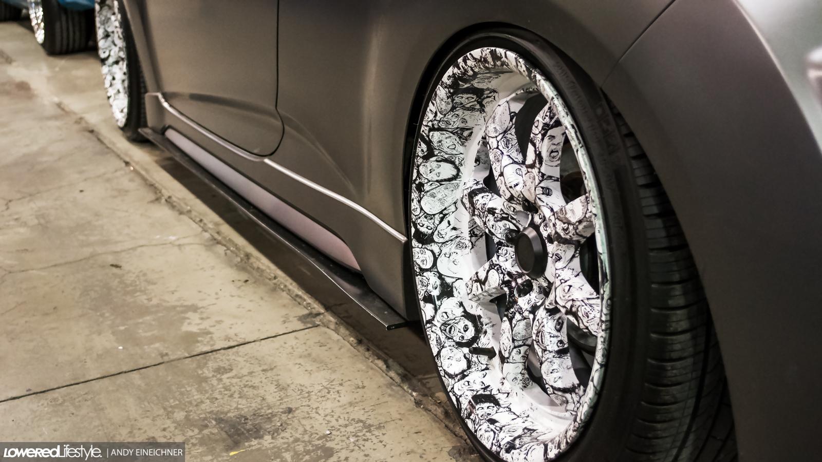 Veloster custom wheels
