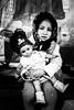 Portrait of a gypsy girl in Brasov (Romania)