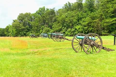 Confederate Artillery First Manassas