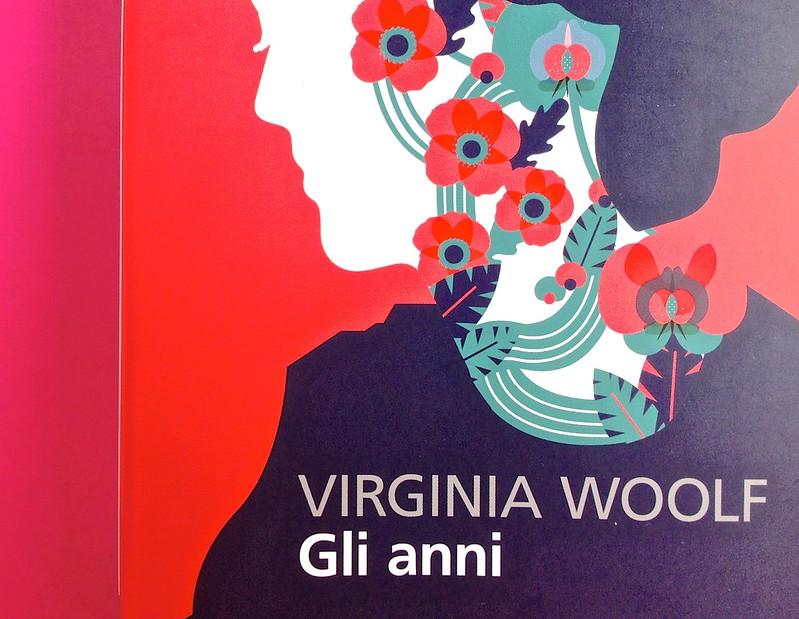Gli anni, di Virginia Woolf. Feltrinelli 2015. Art dir.: Cristiano Guerri; alla cop.: ill. col. di Carlotta Cogliati. Copertina (part.), 4