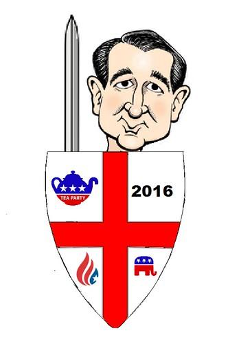 Ted Cruz Declares Holy War