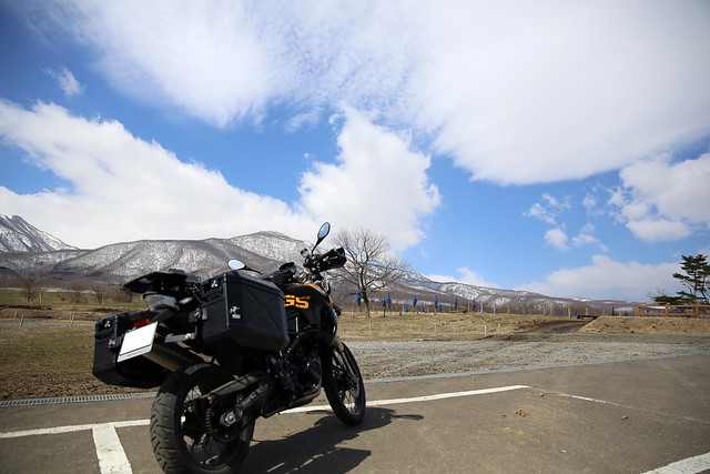 F800GS 20150326 遠刈田ツーリング
