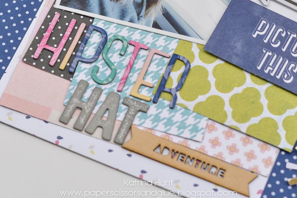 Hipster_Hat_Scrapbook_Page_Layout_Katrina_Hunt_Gossamer_Blue_American_Crafts_1000Signed-2