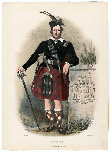 004-Clans_of_the_Scottish_Highlands_1847_Plate_004-The Metropolitan Museum of Art-Thomas J. Watson Library