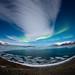 Jokulsarlon aurora by wrc213