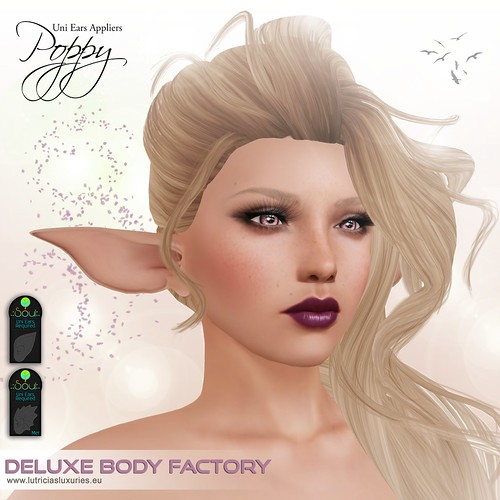 [DBF] Uni Ears appliers Poppy skin line