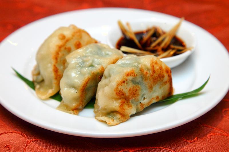Shanghai-Style-Pan-Fried-Chicken-&-Shrimp-Dumpling