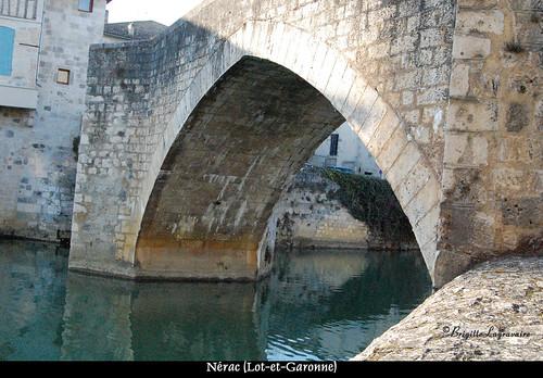 Le Pont-Vieux sur la Baïse (16e siècle)