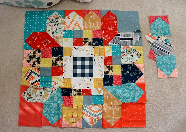 Summery Quilt Beginnings!