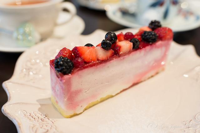 メゾン・ド・フルージュ 苺のチーズケーキ