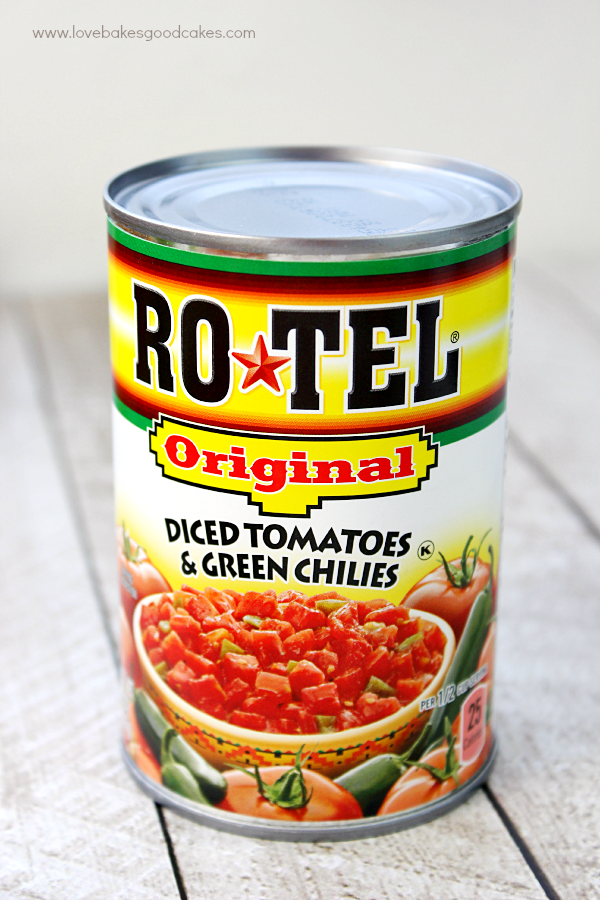 A can of RO*TEL Salsa.