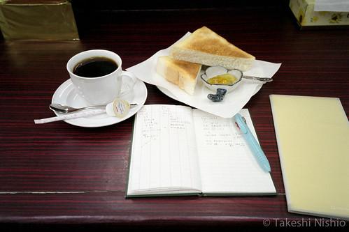 小腹を満たす / afternoon coffee