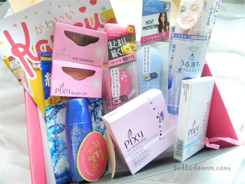 BDJBox Exclusive Kawaii Must-Haves Contents