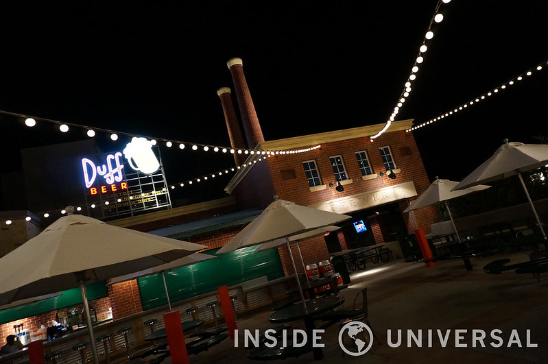 First Look: Springfield at Night at Universal Studios Hollywood