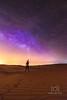 Milky way from Tal Mireb Desert, UAE