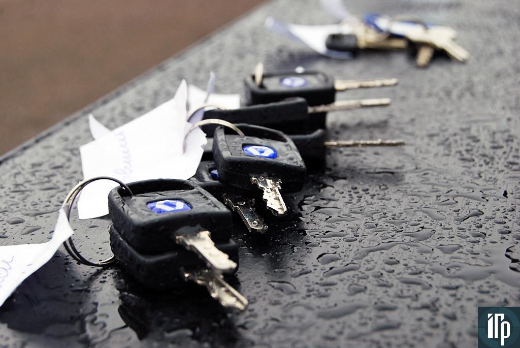 ключи от новой спецтехники