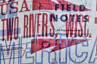 Field Notes Two Rivers - baby blue and pink cover :)