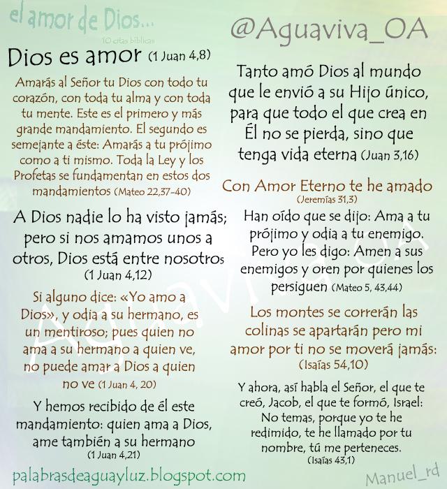 10 Citas Bíblicas Sobre El Amor