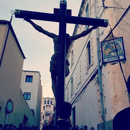 #SantJordi al #Viacrucis #Viacreu #SetmanaSanta #tradició #Gelida #Penedès #Catalunya #Processó #DivendresSant