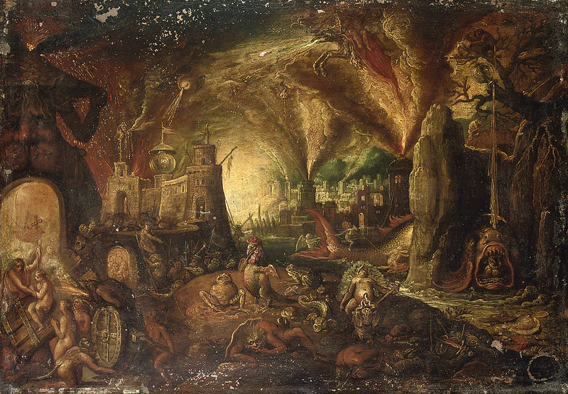 Jacob Isaaczs van Swanenburg - The Harrowing of Hell, 16th-17th century