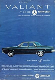 1965 Valiant III Ad (Argentina)