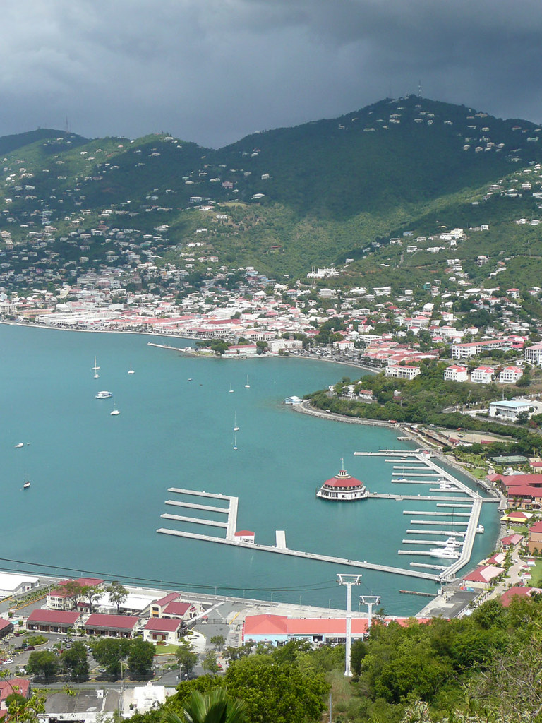 Views from Paradise Point in St. Thomas | Cruise Destination