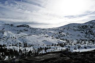 Across the ridge to the Rubicon