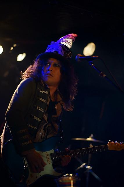 Coal Tar Moon live at Outbreak, Tokyo, 20 Apr 2015. 036