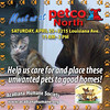 Petco adoptions today until 2pm! Meet adoptable cats, guinea pigs, rabbit, ferret and a dog. 3215 Louisiana Ave in Lafayette.