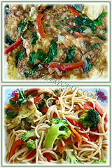 Added the aromatic Mint Leaf to our omelette and spaghetti, Apr 9 2013