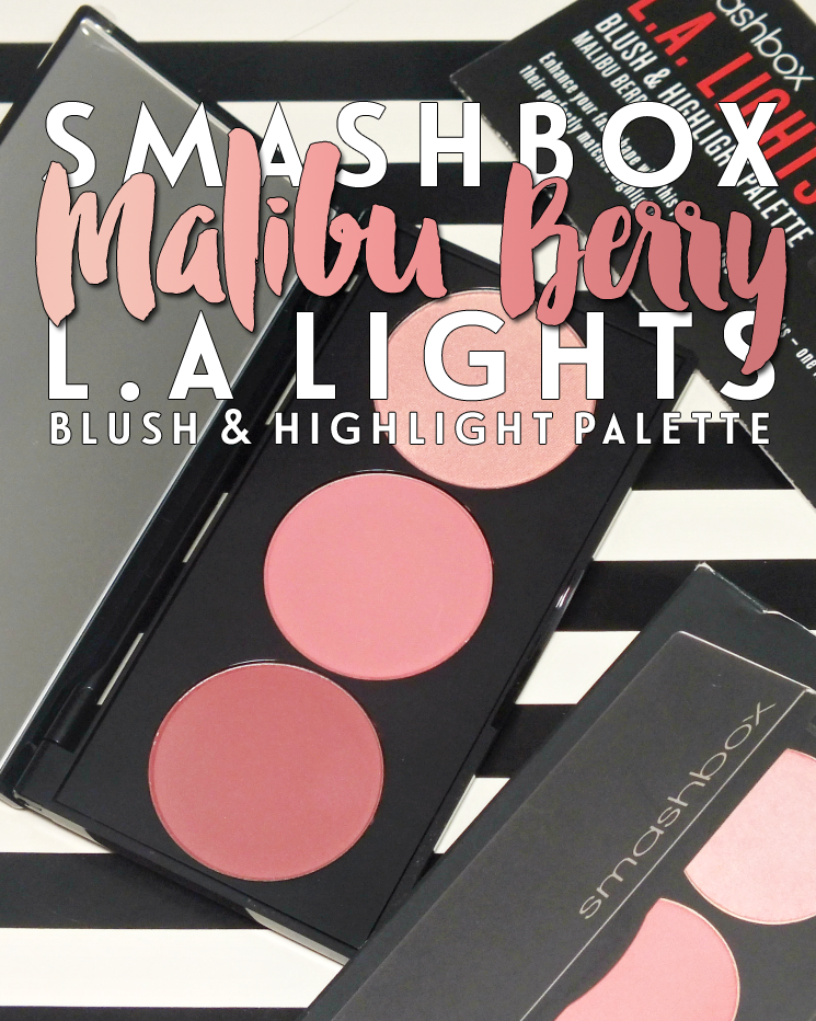 smashbox la lights blush & highlight palette malibu berry (4)