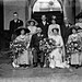 Chavelier O'Loughlin wedding, large family group. by National Library of Ireland on The Commons