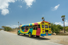 Caribbean excursion bus