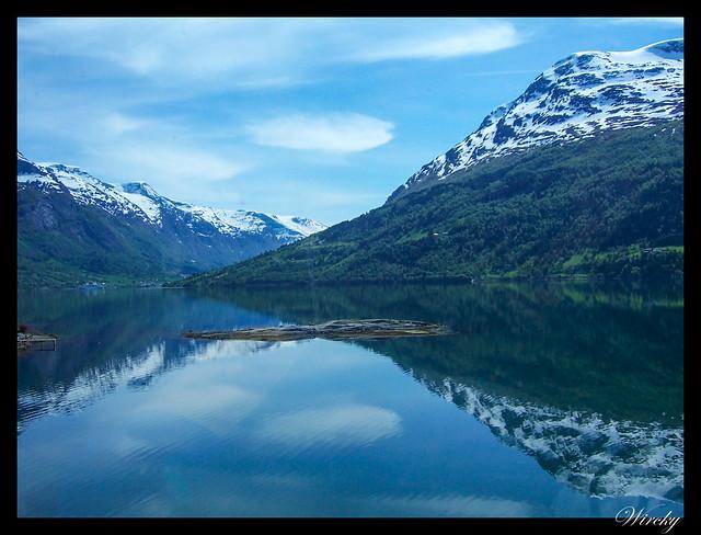 Fiordos noruegos Storfjord Geiranger Hellesylt Briksdal Loen - Fiordo Nordfjord