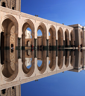 Casablanca Morocco Arches - Hassan II Mosque