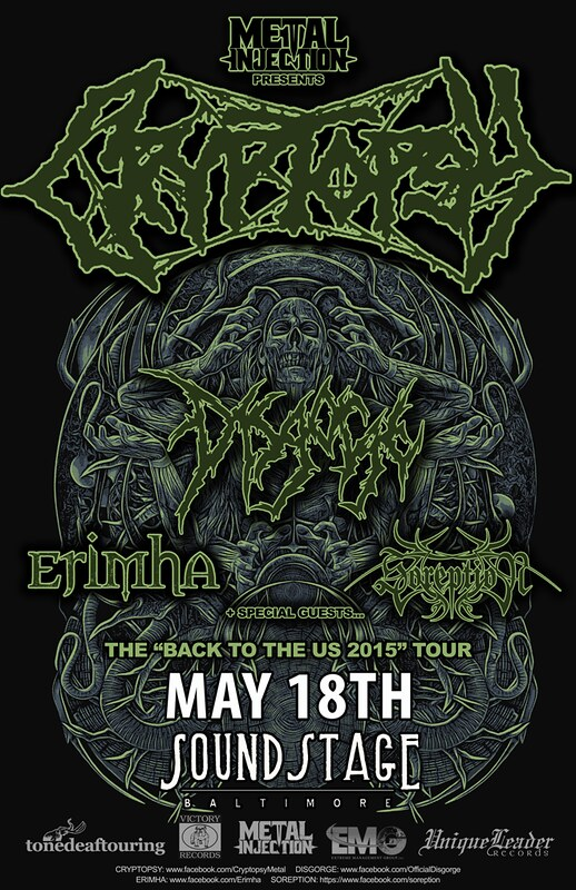 Cryptopsy at Baltimore SoundStage