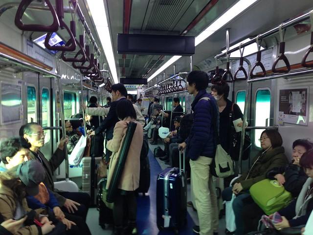 Riding the Seoul metro