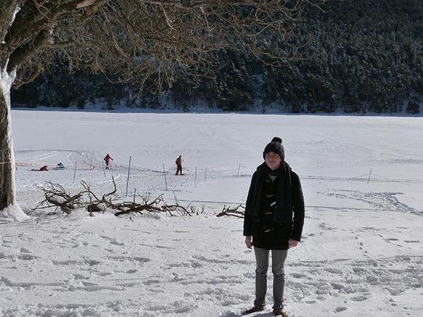clem à la neige