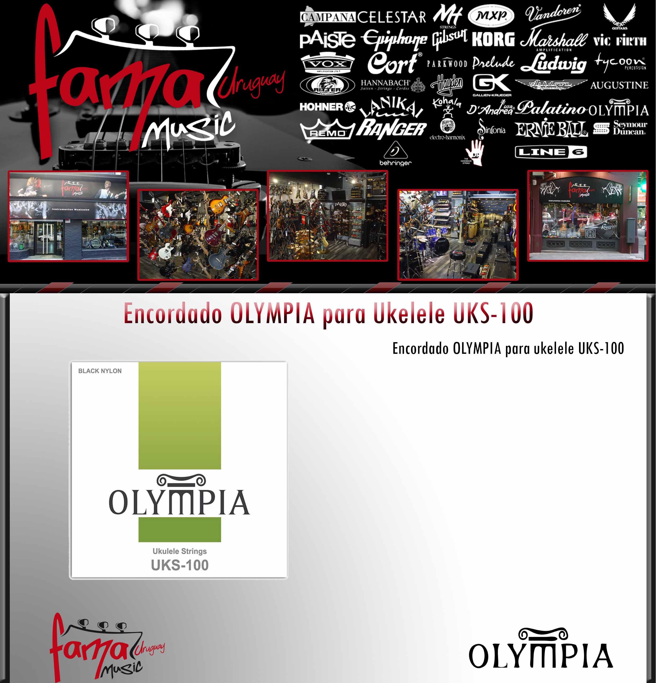 Encordado OLYMPIA para Ukelele UKS-100