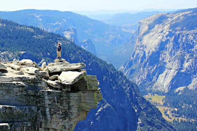 Yosemiten laakso ja Half Dome