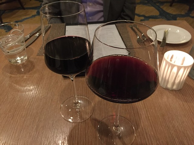 Red wines - Laurel Court Restaurant