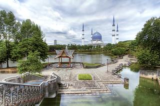 Blue Mosque : Malaysia