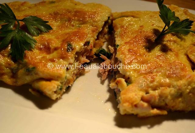 Omelette au Thon © Ana Luthi Tous droits réservés