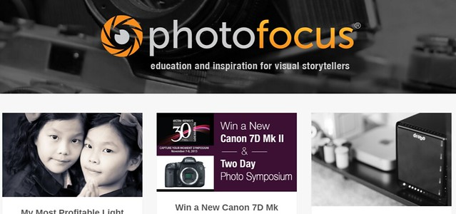 Photofocus Education and inspiration for Visual Storytellers