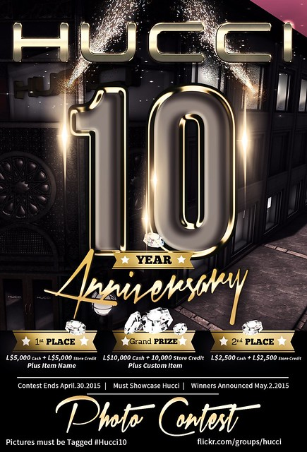Hucci 10 Year Anniversary Photo Contest
